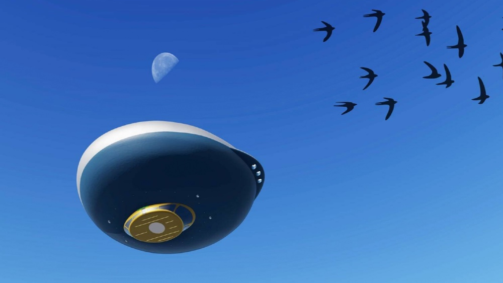 More UFO than floating superyacht