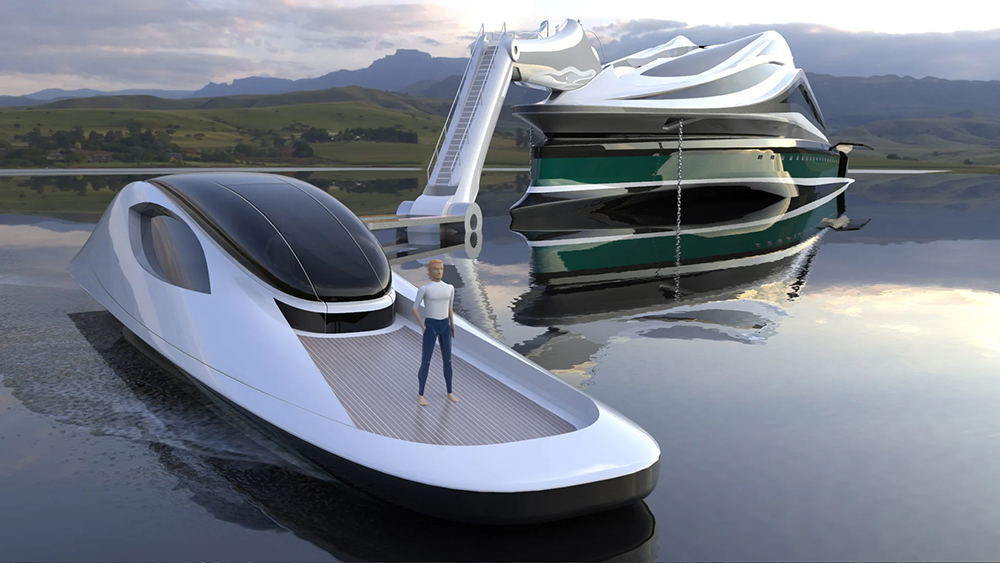 If ever there was a bird brained idea for a yacht that guaranteed to ruffle a few feathers then this idea is it.