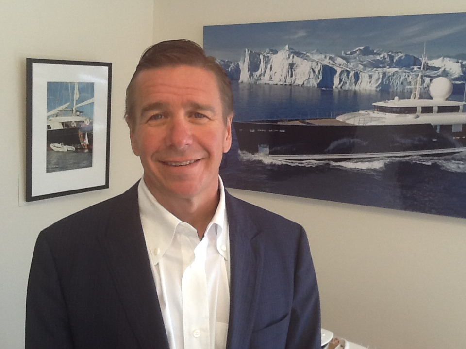 Dirk Johnson, who continues his role as sales broker,