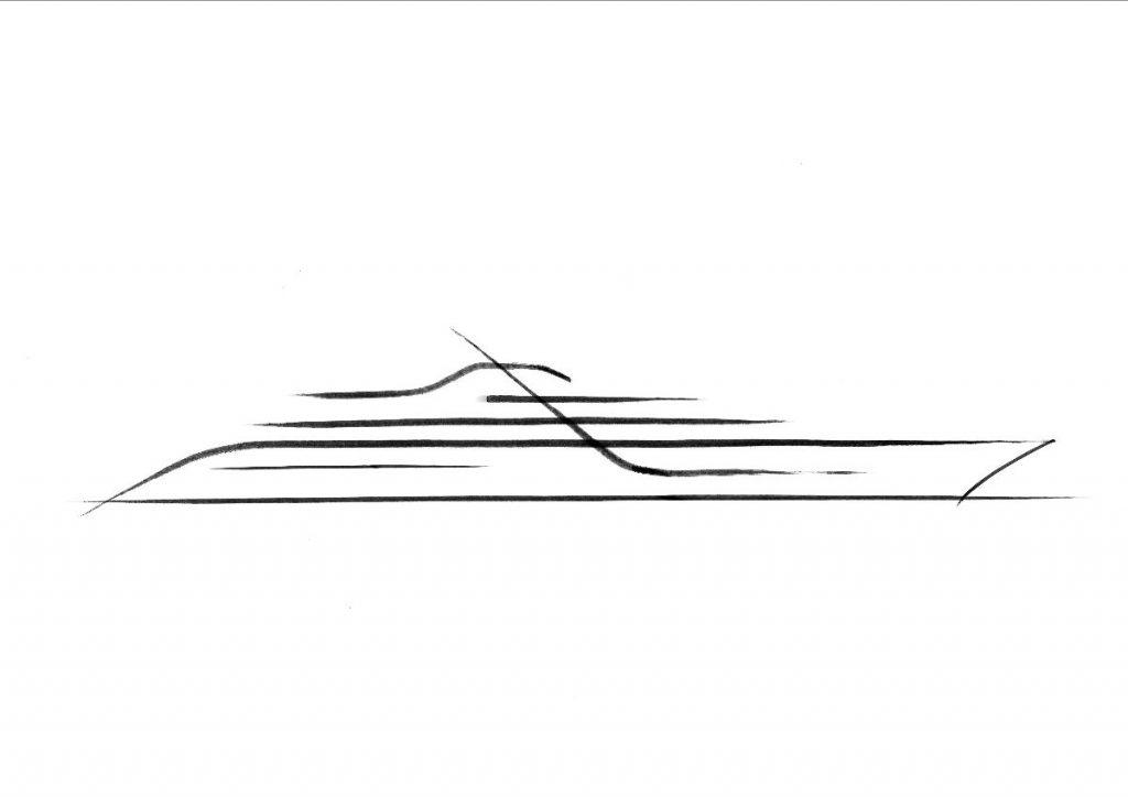 Project Signature, a 120-metre superyacht designed by Espen Øino.