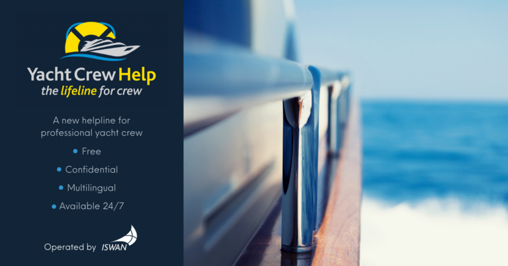 Yacht Crew Help is a new lifeline for those who crew Superyachts
