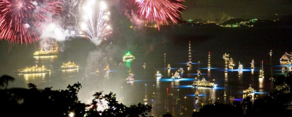 In almost every capital city around the world heralding in the new year is going to be somewhat muted but not in St Barts