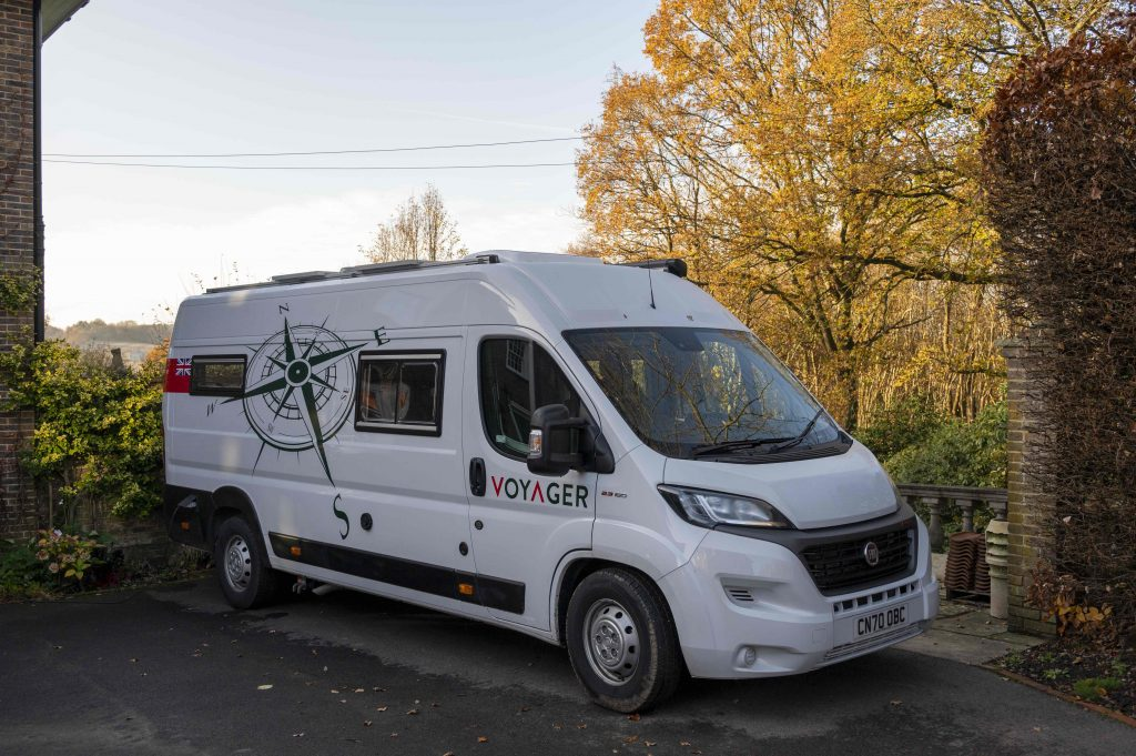 Voyager campervan built by Celtic Motorhomes on a Fiat Ducato Maxi LWB Chassis