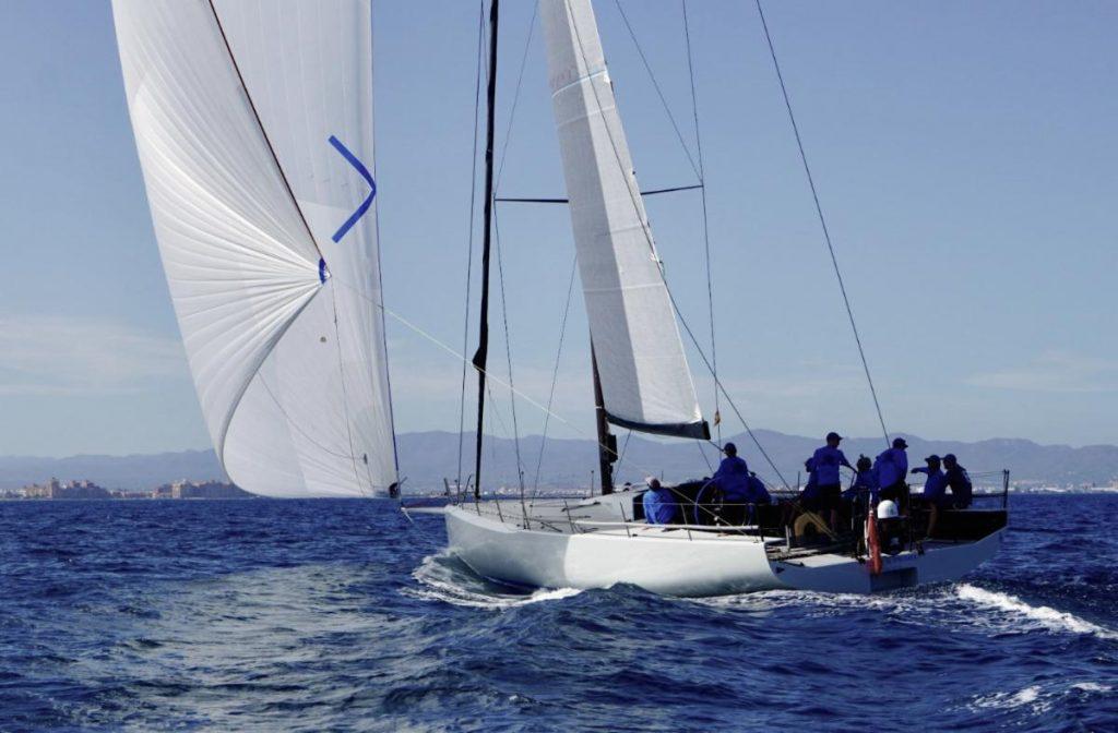 Stefan Jentzsch's new Botin 56 Black Pearl, skippered by Marc Lagesse