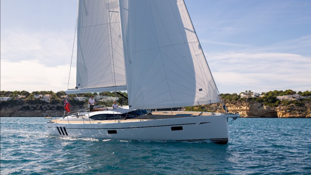 The launch price for the Oyster 495 will be £975,000 plus VAT.