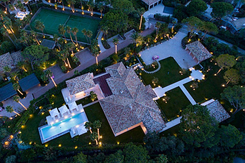 One shot of Villa Las Brisas