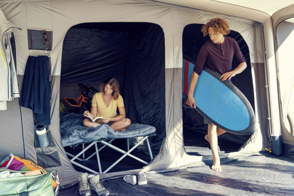 Dometic Inflatable Tents are good for those who use camper vans