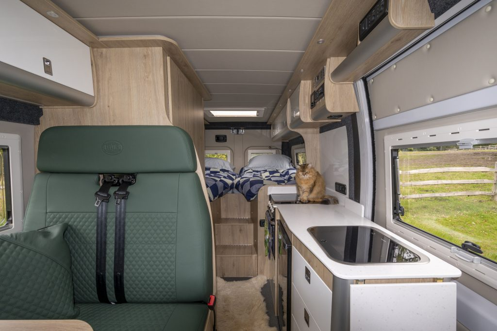 Our own, high value campervan was insured by the NFU at a fraction of the cost offered by the Caravan Club