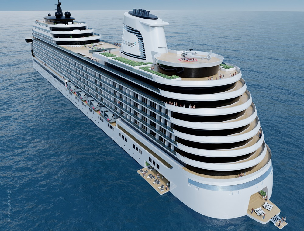 Storylines, will launch their first vessel, the 226 metre Narrative in 2024.