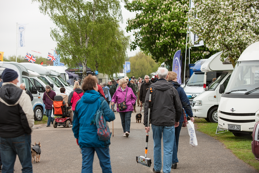 The Southern Motorhome and Campervan Show held at Newbury offered poor value to the visitor