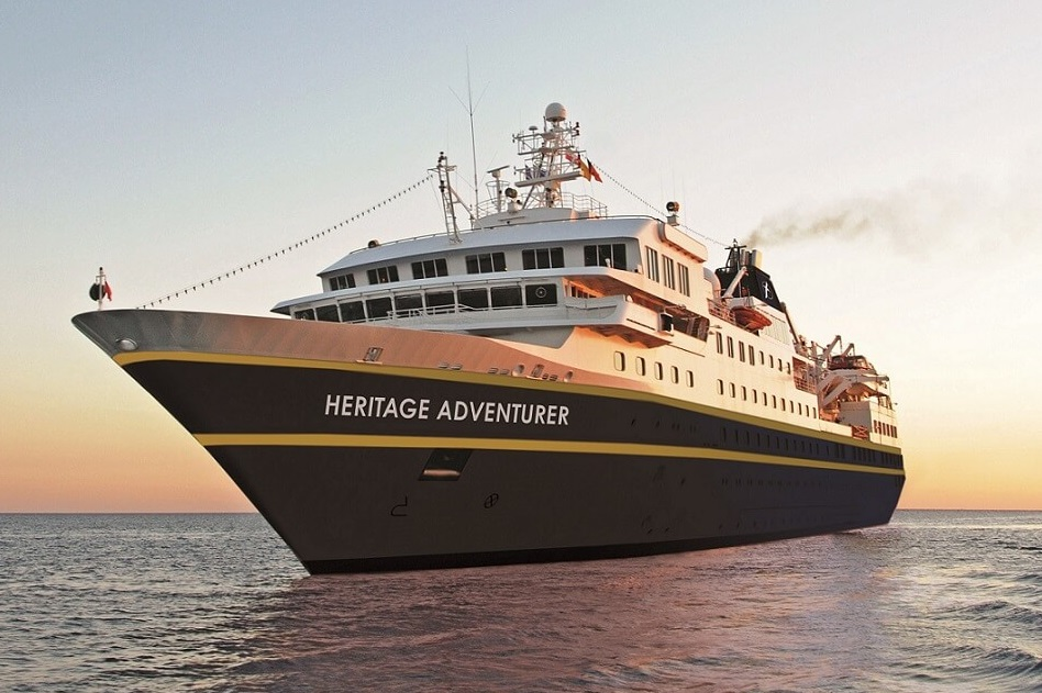 The New Zealand-based expedition cruise company Heritage Expeditions has released details of its 2022-23 expedition season, including two new voyages, aboard polar exploration vessel Heritage Adventurer.