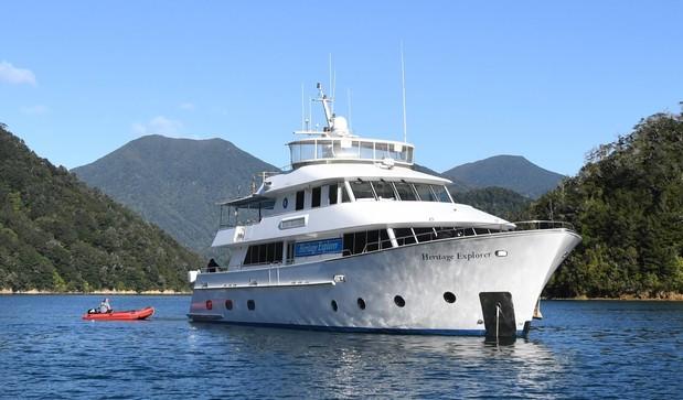 The yacht like Heritage Explorer