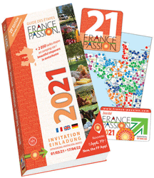 Updated and improved every year, the France Passion guide is published in two versions: